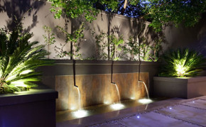 Pond Construction Ideas: Waterfall fountain: Commercial Pond Contractor