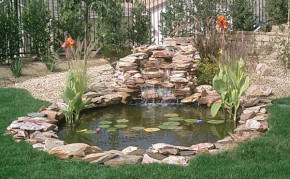 pond construction company in los angeles ca