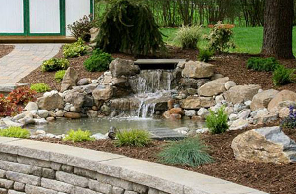 Hybrid koi pond, pond builders, Koi pond contractors