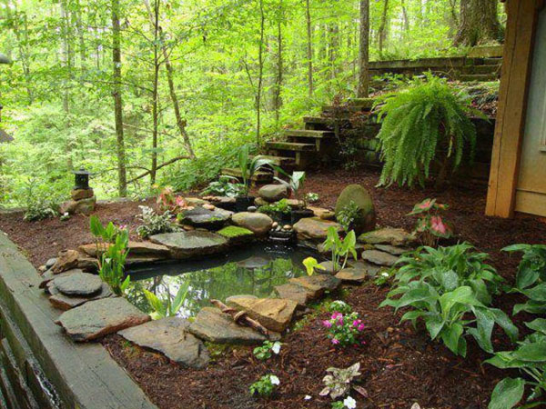Natural pond pacific ponds and design for Water pond design