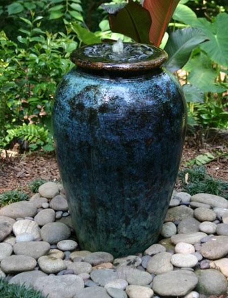 Pondless fountain, Fountain, Large vase fountain