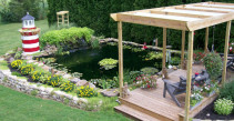 Add a pond to your yard