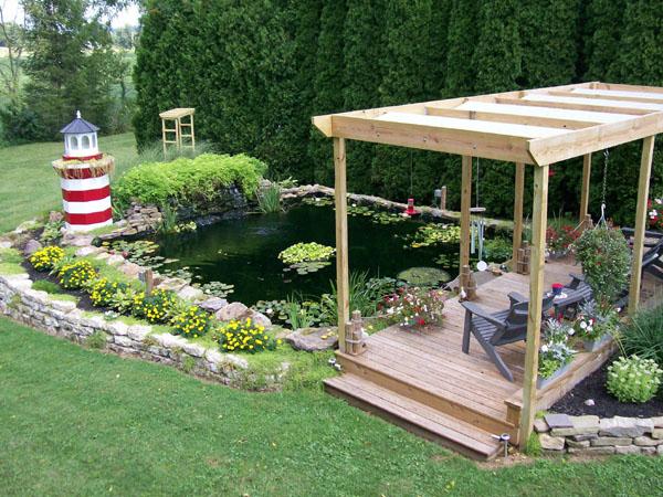 Water garden, Koi pond builder, Garden pond