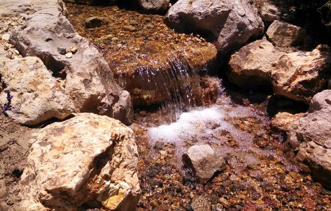 Waterfall, rock waterfall