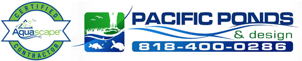 Aquascape Certified Pond Contractor - Pacific Ponds and Design